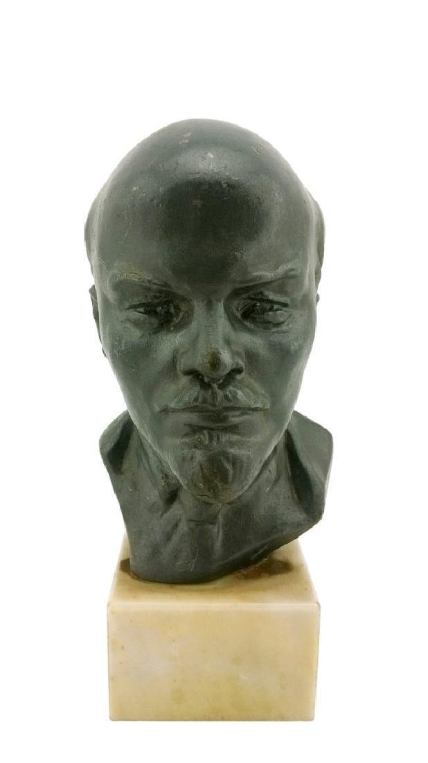 Author's Sculpture - Bust of Vladimir Lenin