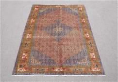 Semi Antique Persian Bidjar Rug 9.7x6.6