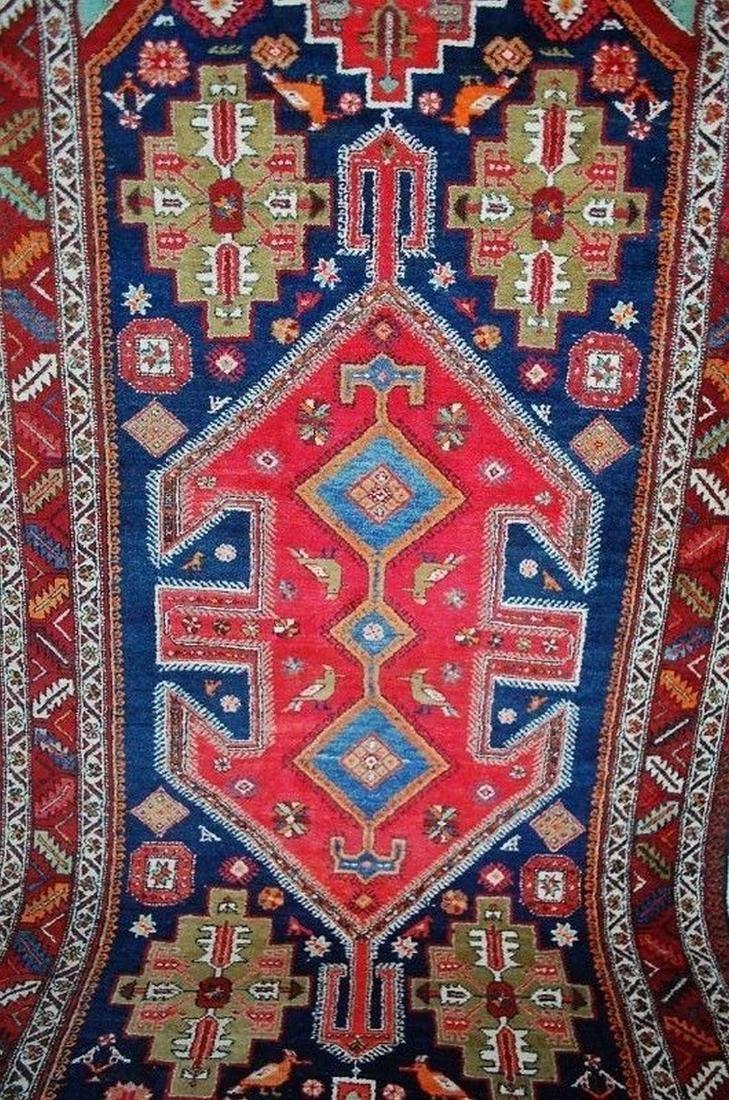 Antique Persian Nomadic Rug - 10