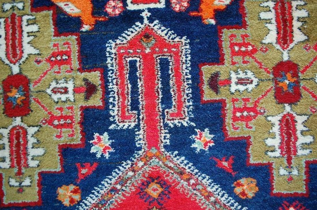 Antique Persian Nomadic Rug - 9