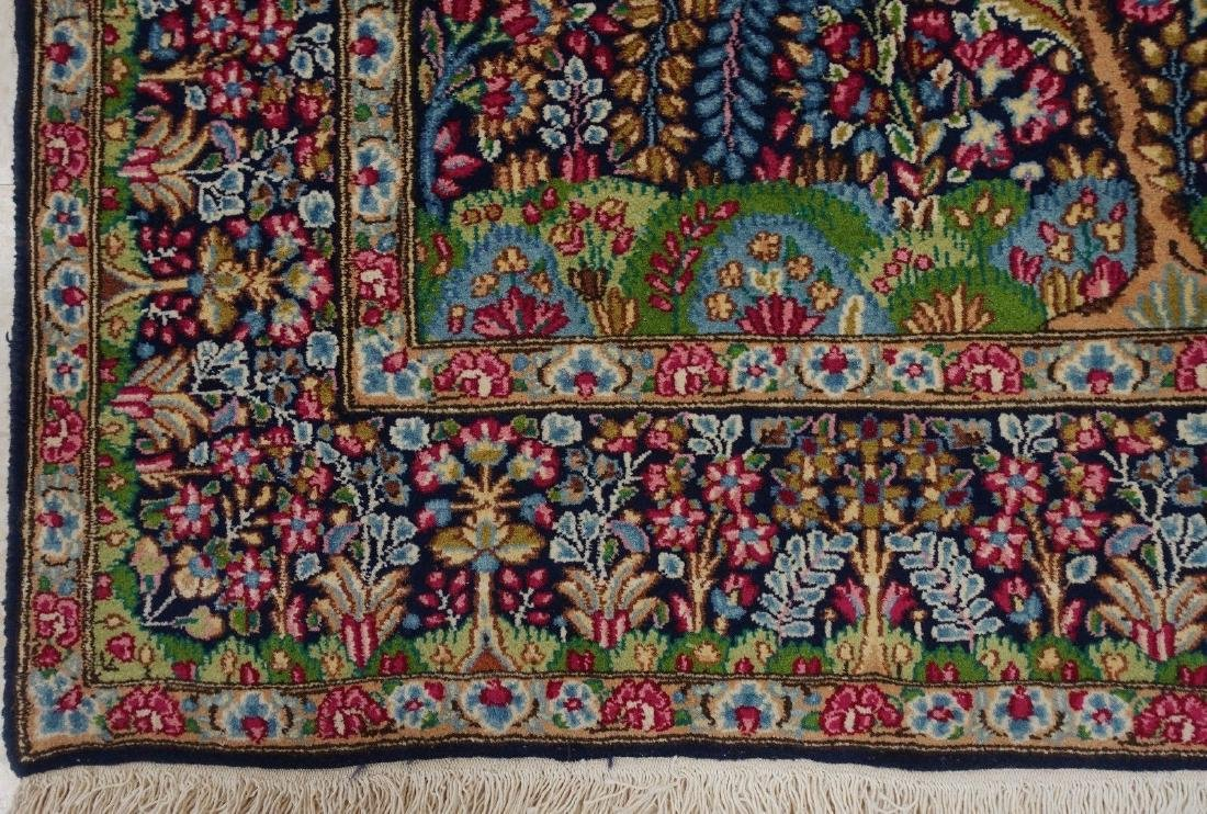 PERSIAN KERMANN Hand Knotted Wool TREE OF LIFE NEW - 10
