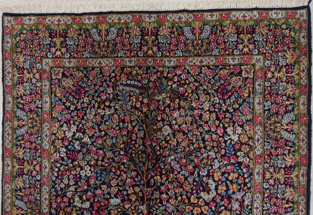 PERSIAN KERMANN Hand Knotted Wool TREE OF LIFE NEW - 4