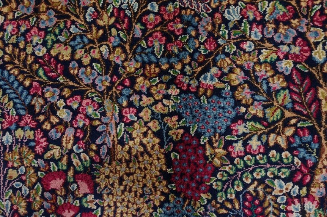PERSIAN KERMANN Hand Knotted Wool TREE OF LIFE NEW - 7