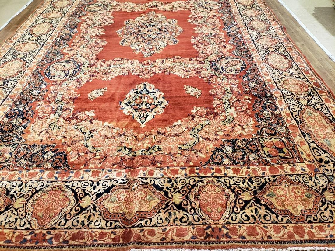 11 x 17 Fine Antique Persian Sarouk Rug
