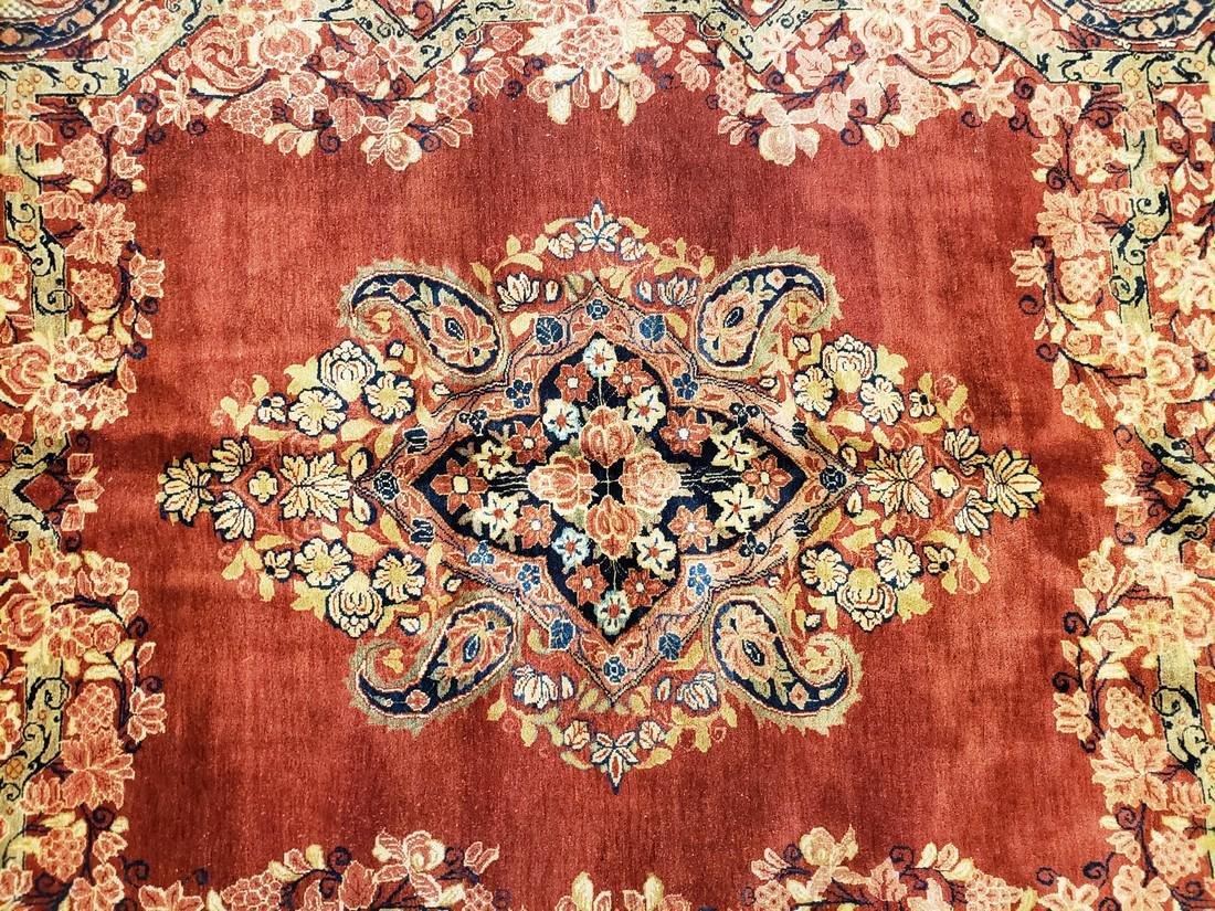 11 x 17 Fine Antique Persian Sarouk Rug - 4