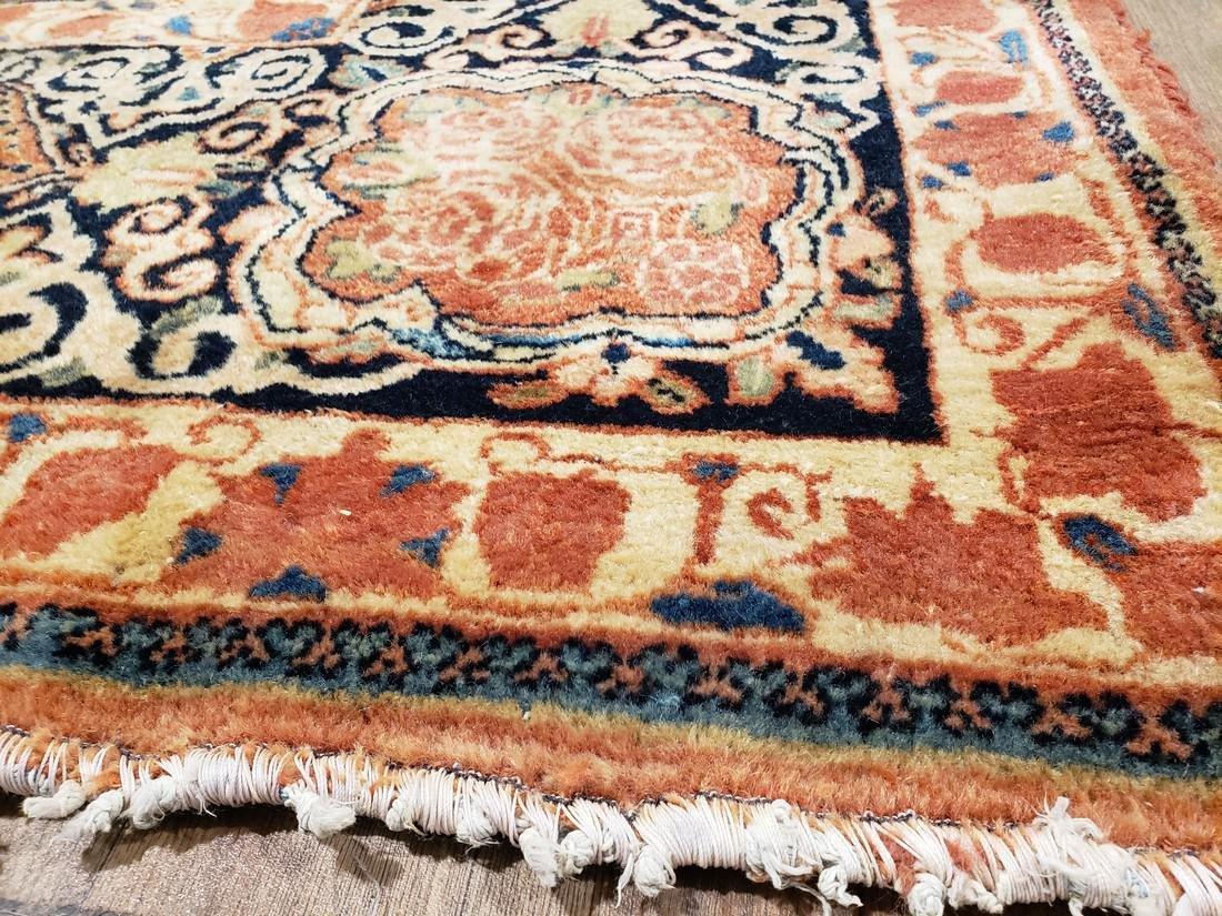 11 x 17 Fine Antique Persian Sarouk Rug - 5