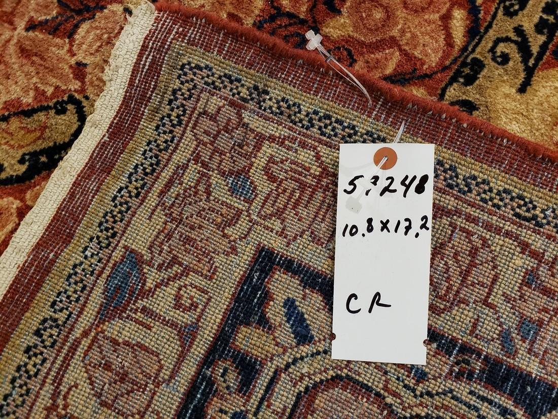 11 x 17 Fine Antique Persian Sarouk Rug - 6