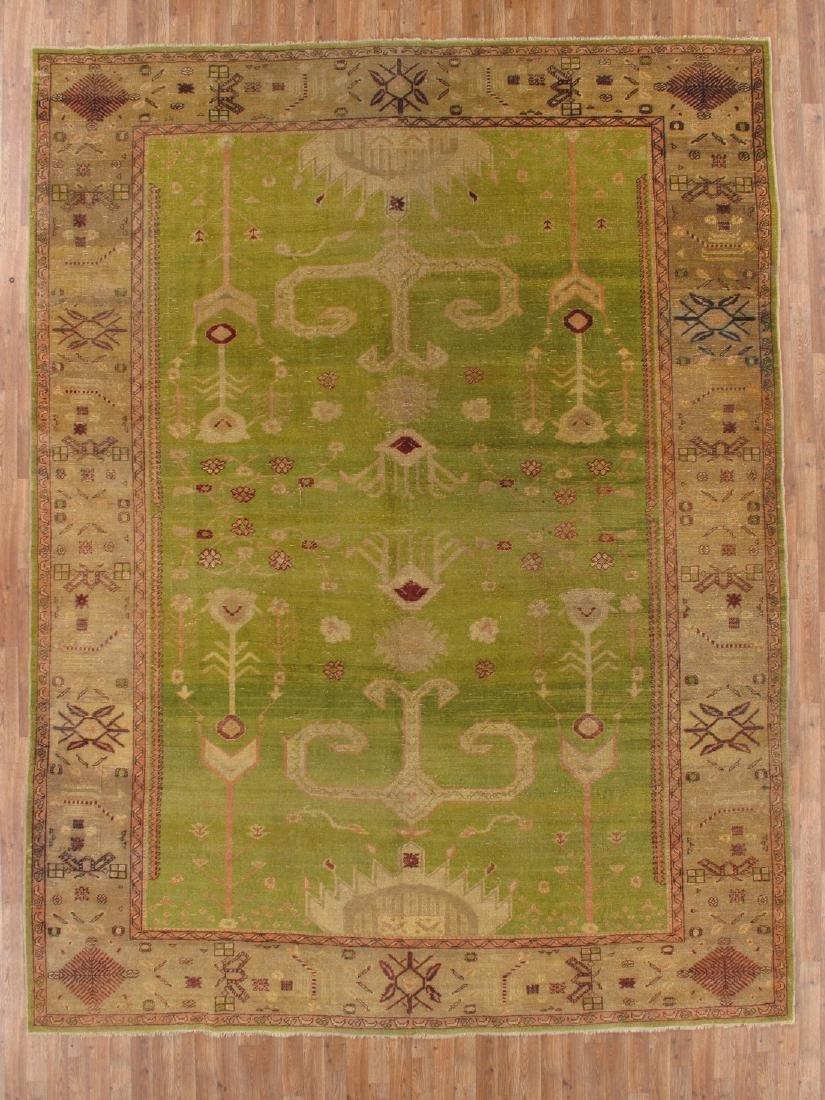 10 x 13 Fine Antique Special Oushak Rug