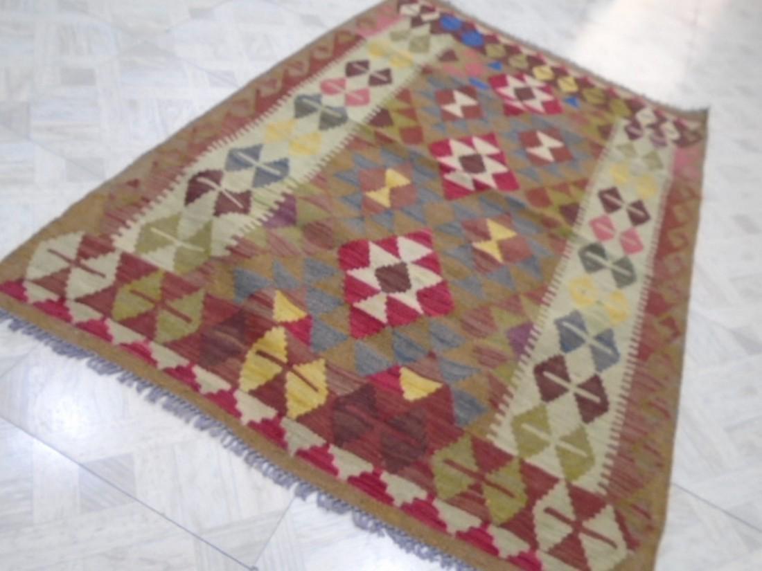 Beautiful Chobi Kilim Rug - 6