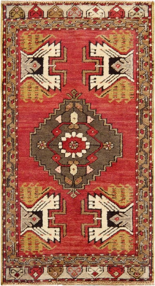 Vintage Sivas Collection Hand-Knotted Lamb's Wool Area