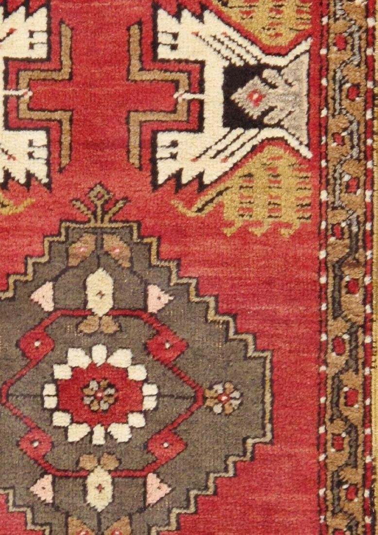 Vintage Sivas Collection Hand-Knotted Lamb's Wool Area - 2
