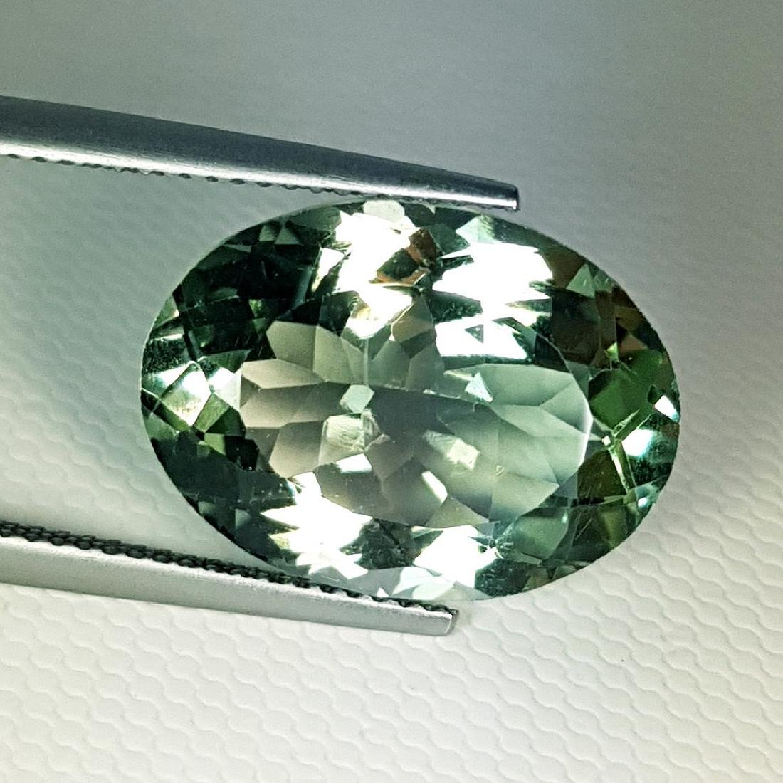 Stunning Luster Natural Green Amethyst - 11.15 ct