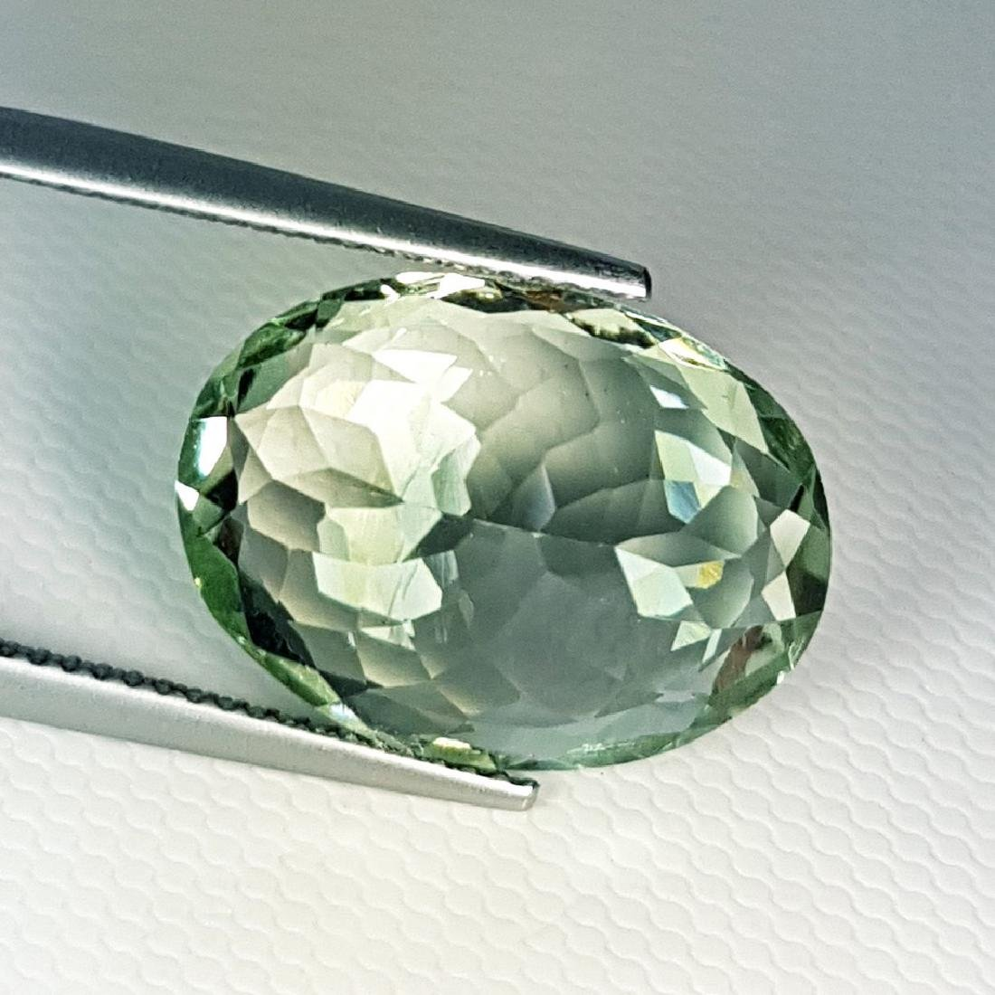Stunning Luster Natural Green Amethyst - 11.15 ct - 3