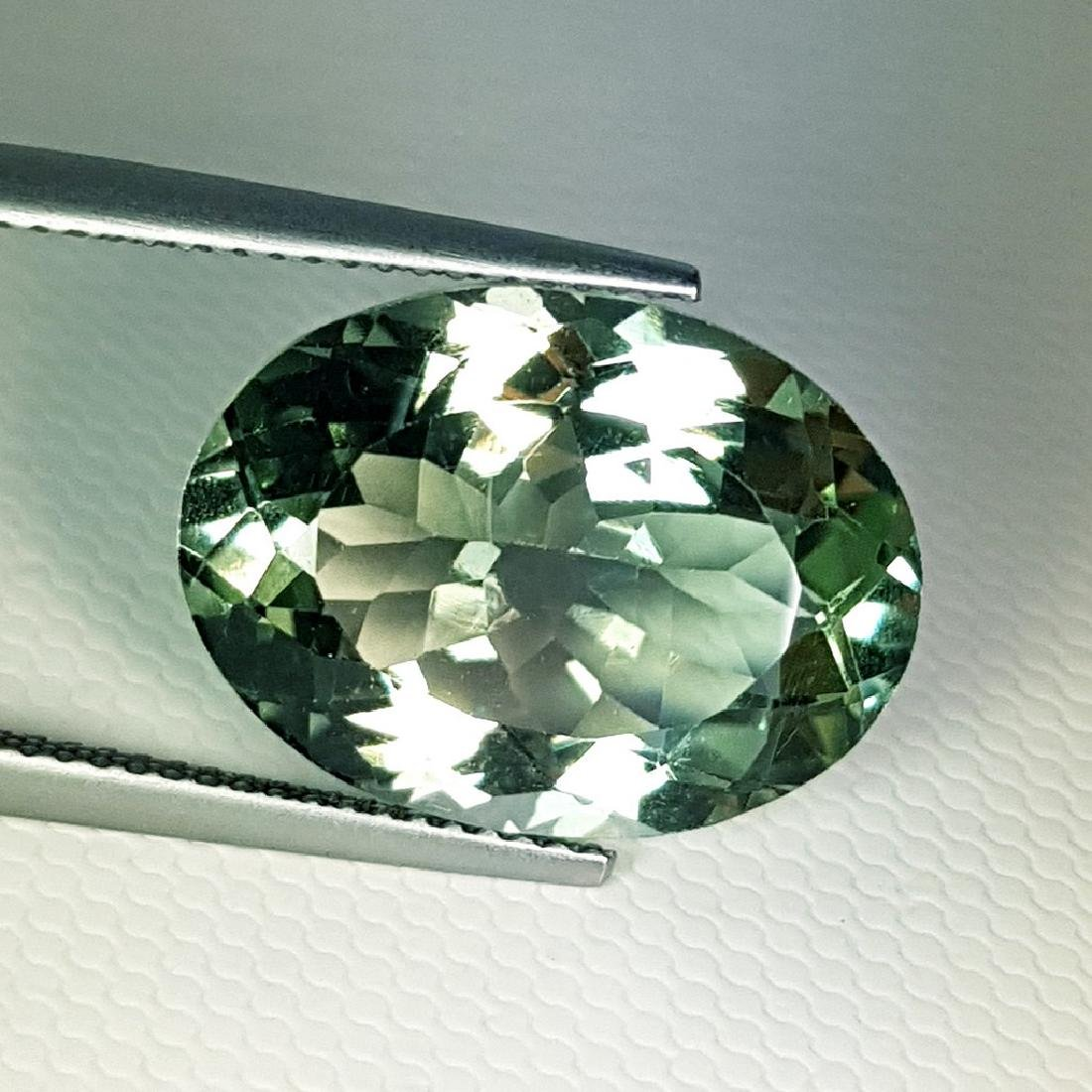 Stunning Luster Natural Green Amethyst - 11.15 ct - 4