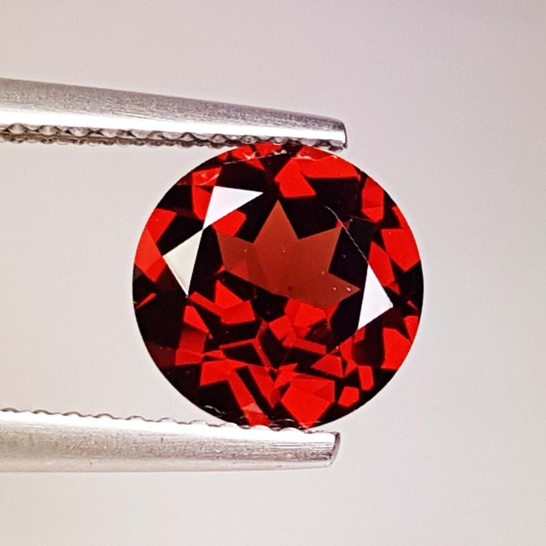 Natural Pyrope - Almandite Red Garnet - 2.10 ct
