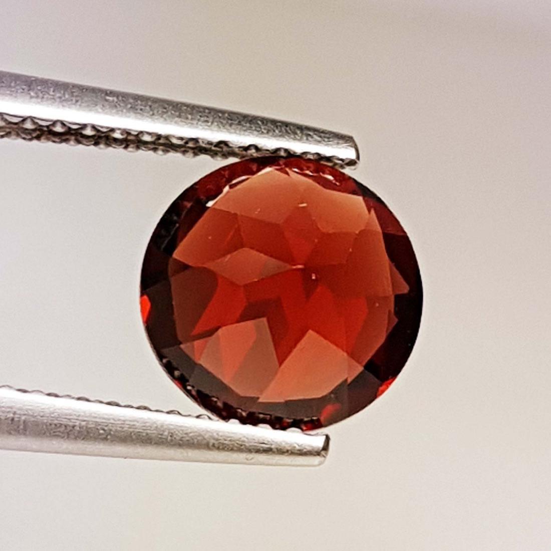 Natural Pyrope - Almandite Red Garnet - 2.10 ct - 3