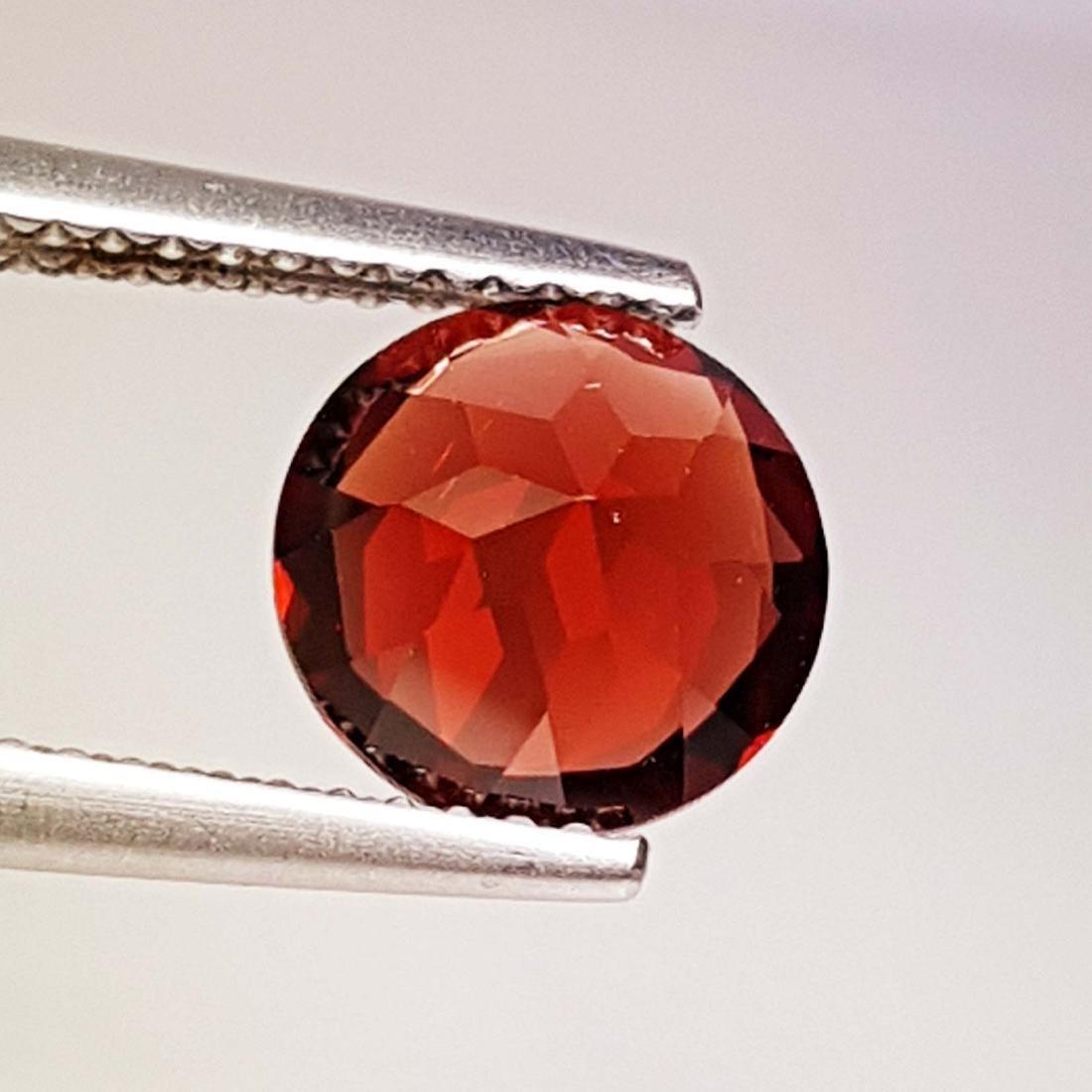 Natural Pyrope - Almandite Red Garnet - 2.10 ct - 4