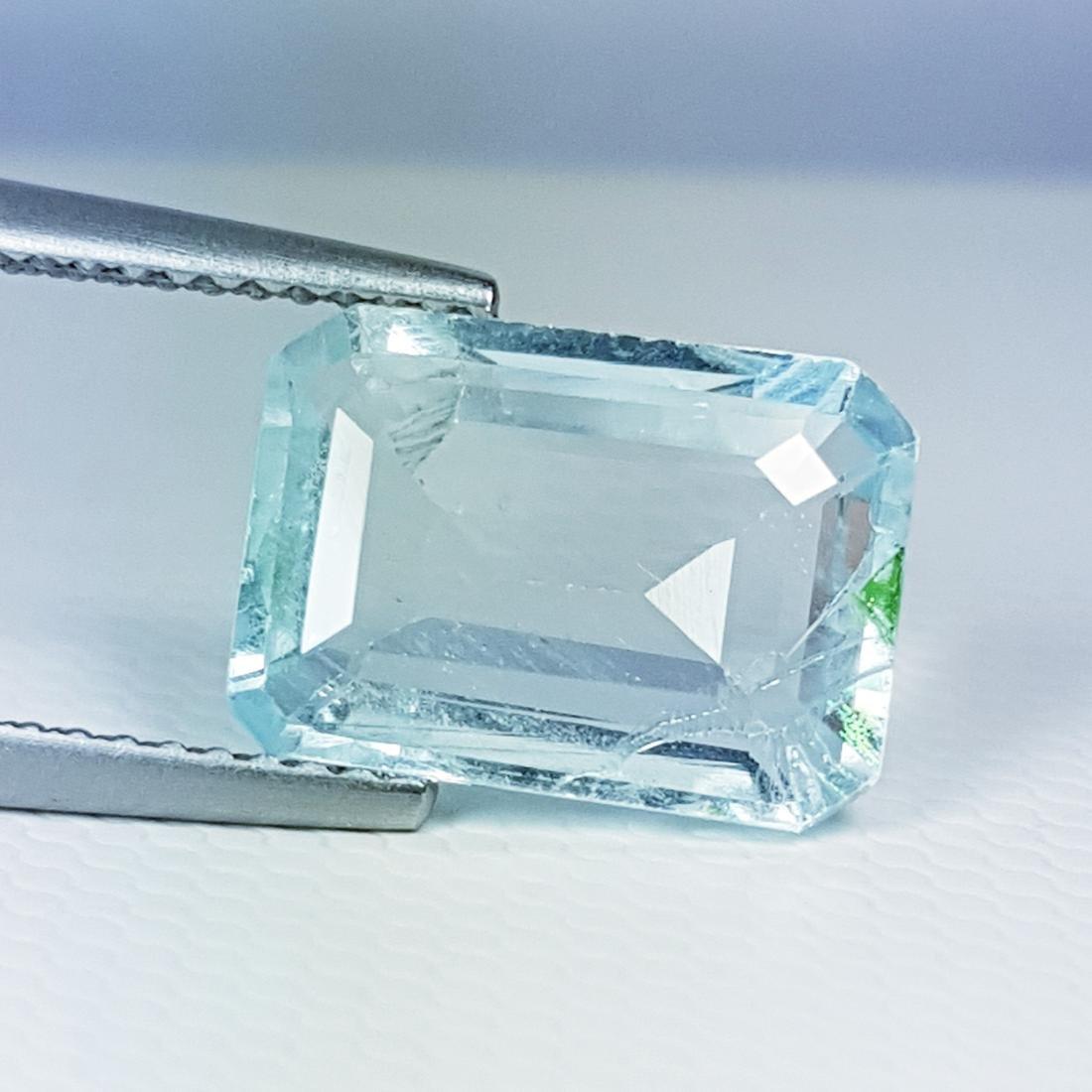 AAA Top Grade Natural Aquamarine - 3.73 ct