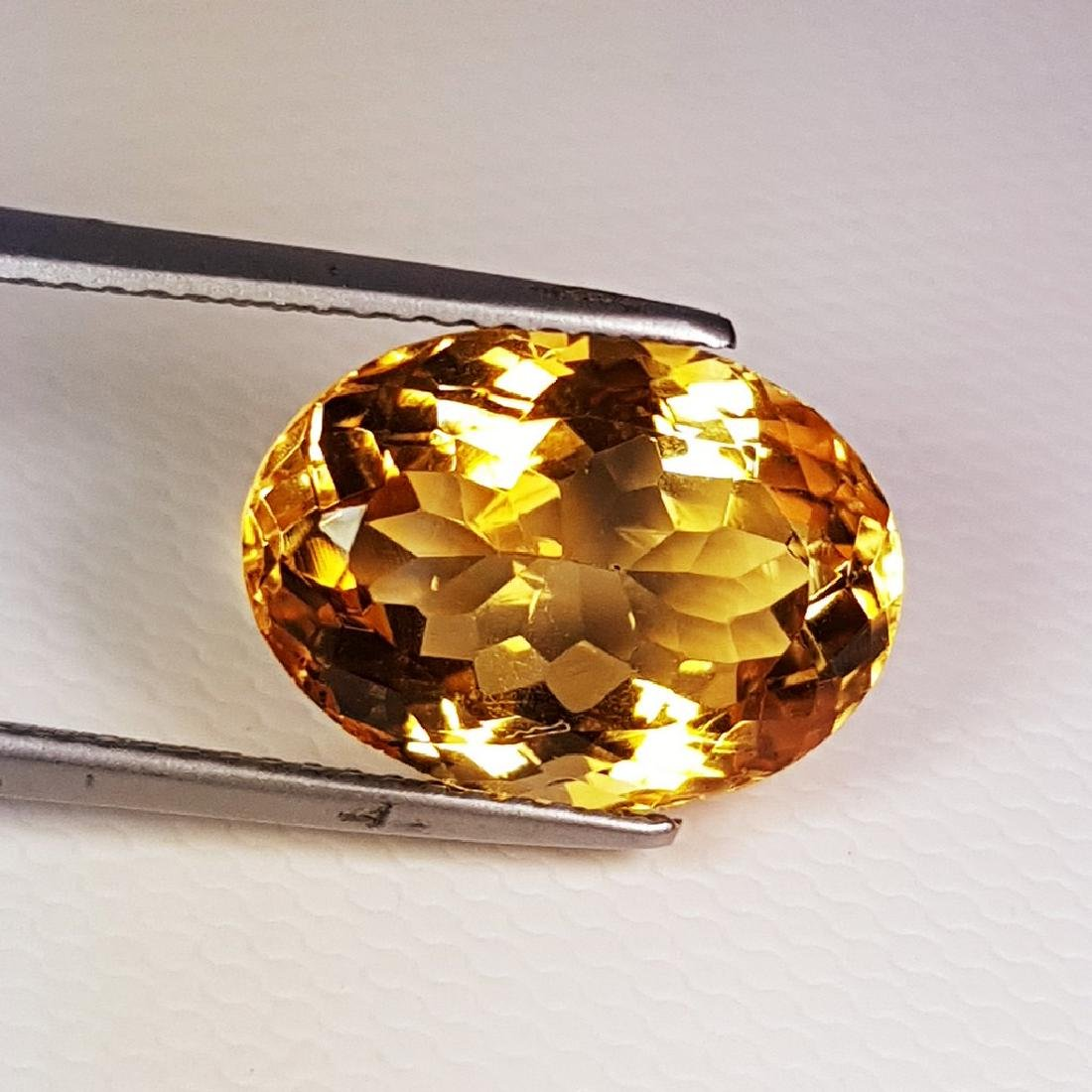 Marvelous Oval Cut Natural Citrine - 6.34 ct