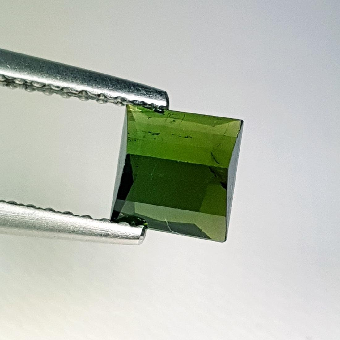 Amazing Square Natural Tourmaline - 1.14 ct - 3