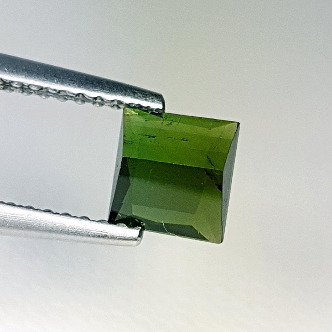 Amazing Square Natural Tourmaline - 1.14 ct - 4