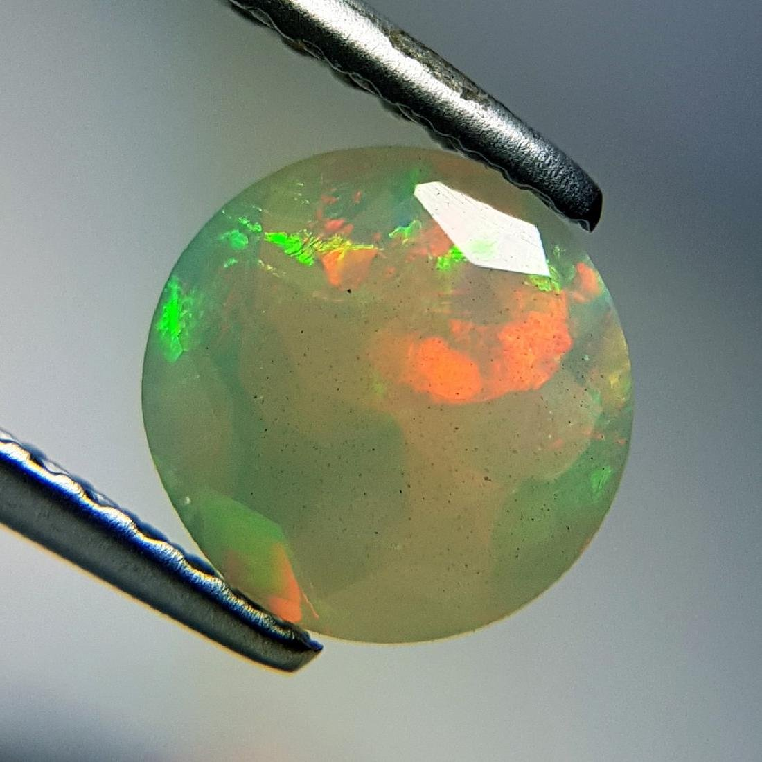 Lovely Fire Oval Cut Natural Opal  - 0.95 ct