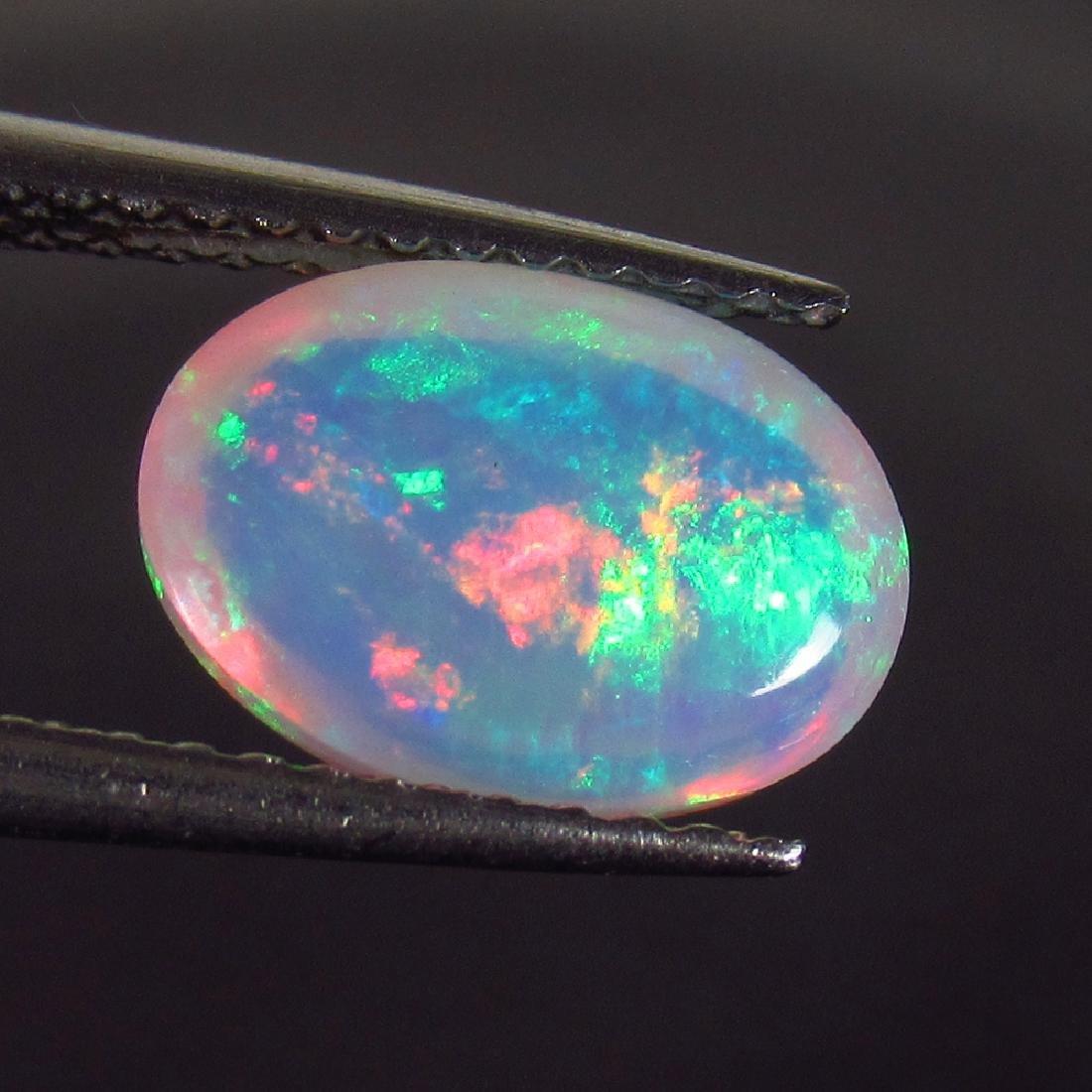 1.54 Ctw Natural Ethiopian Multi-Color Fire Opal 10x7 - 2