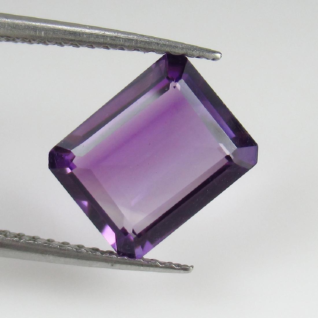 2.48 Ctw Natural Loose Purple Amethyst Octagon Cut