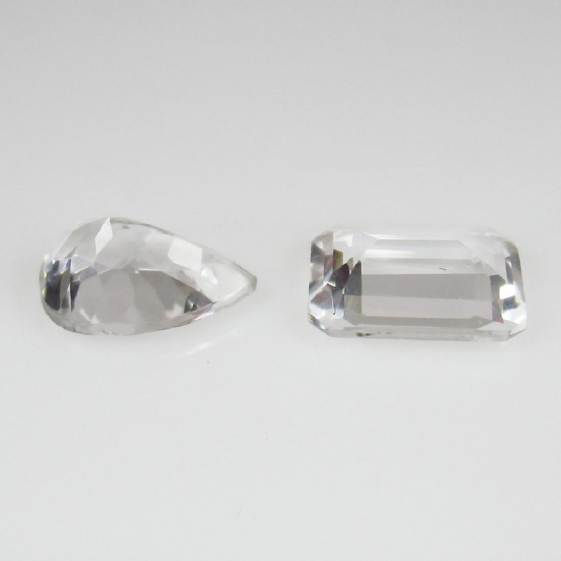 3.30 Ctw Natural Rock Crystal Top Class Luster Stones - 2