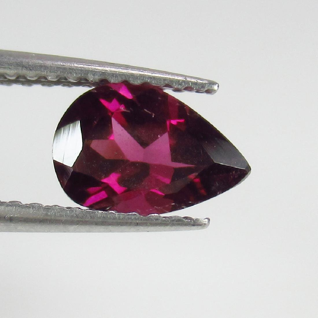 1.15 Ctw Natural Pink Rhodolite Garnet 8X5.5 mm Pear