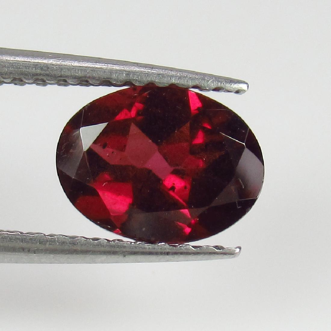 1.46 Ctw Natural Pink Rhodolite Garnet 8X6 mm Oval cut