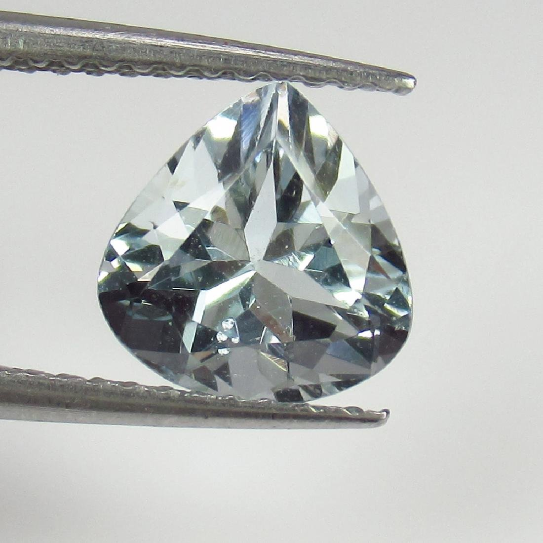 1.38 Ctw Natural Loose Aquamarine Excellent Heart cut