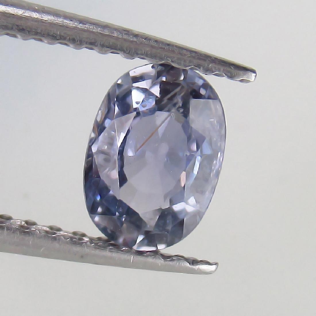 0.73 Ct Genuine Ceylon Light Blue Sapphire Oval cut