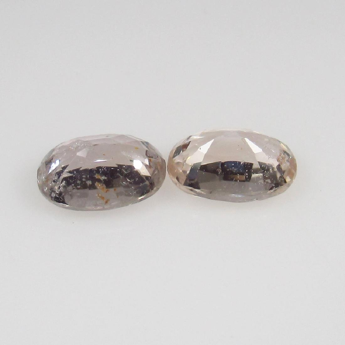 1.47 Ct Genuine Ceylon Light Brown Sapphire Nice Oval - 2