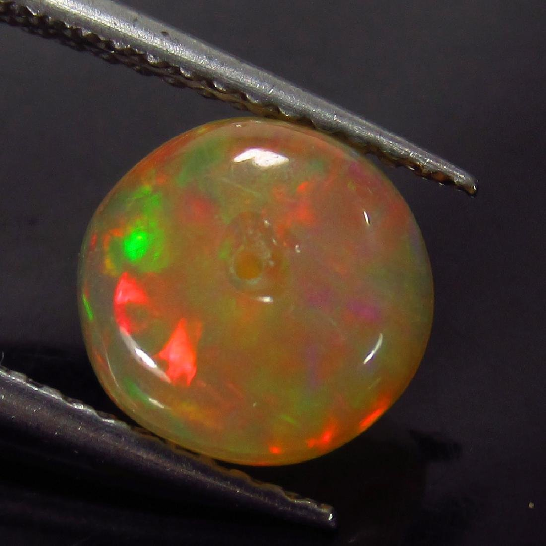 1.53 Ct Genuine Loose Drilled Multi-Color Fire 8.3 mm
