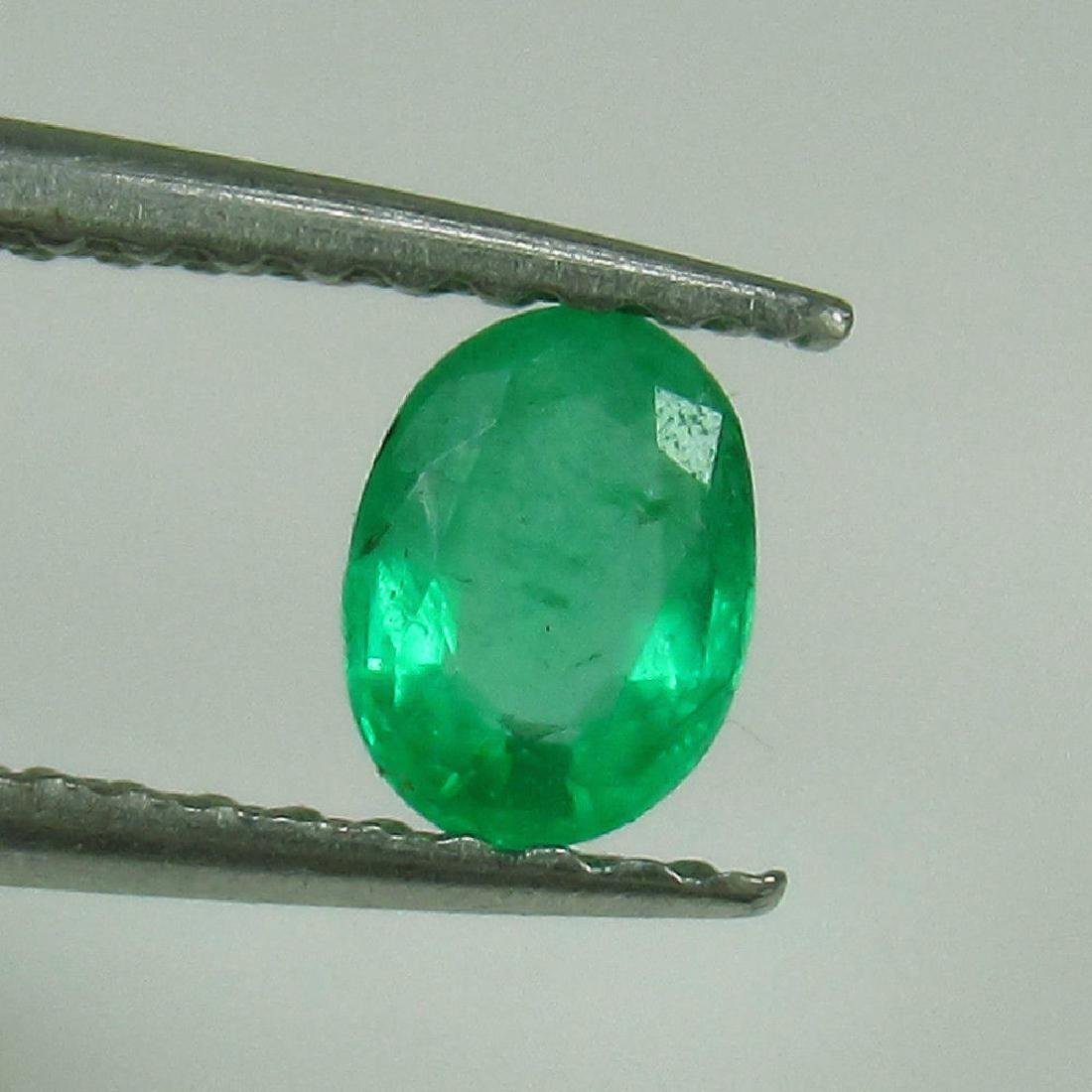 0.29 Ct Genuine Zambian Emerald Nice Oval Cut