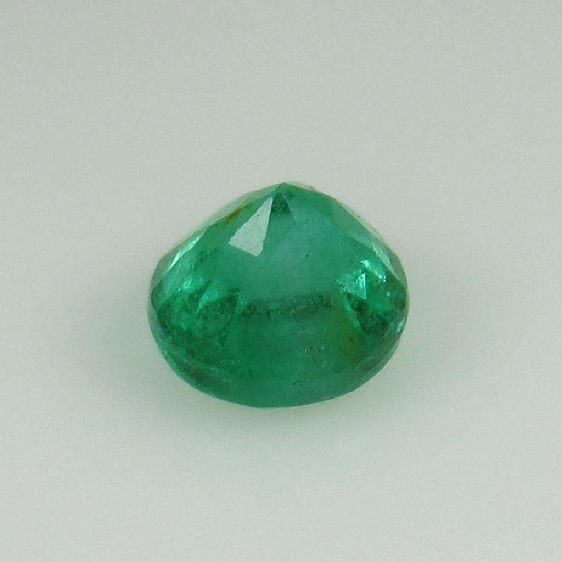 0.40 Ct Genuine Zambian Emerald 4.5 mm Round Cut - 2