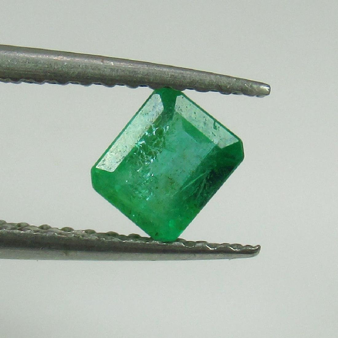 0.56 Ct Genuine Loose Zambian Emerald 5X4 mm Octagon