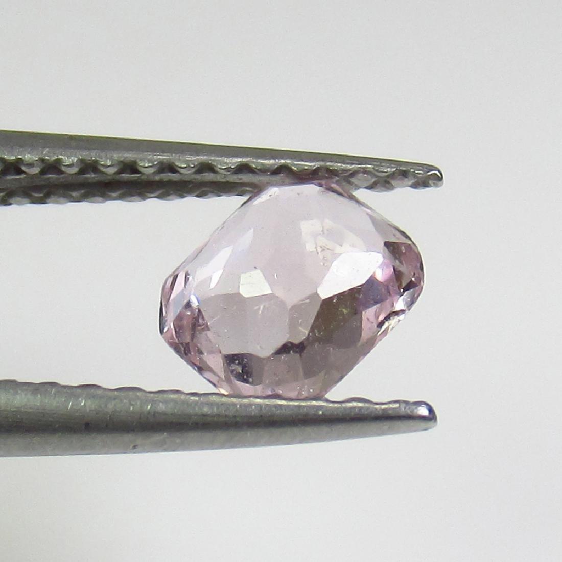 0.66 Ct Genuine Ceylon Brown Sapphire 5.5X4.5 mm - 2