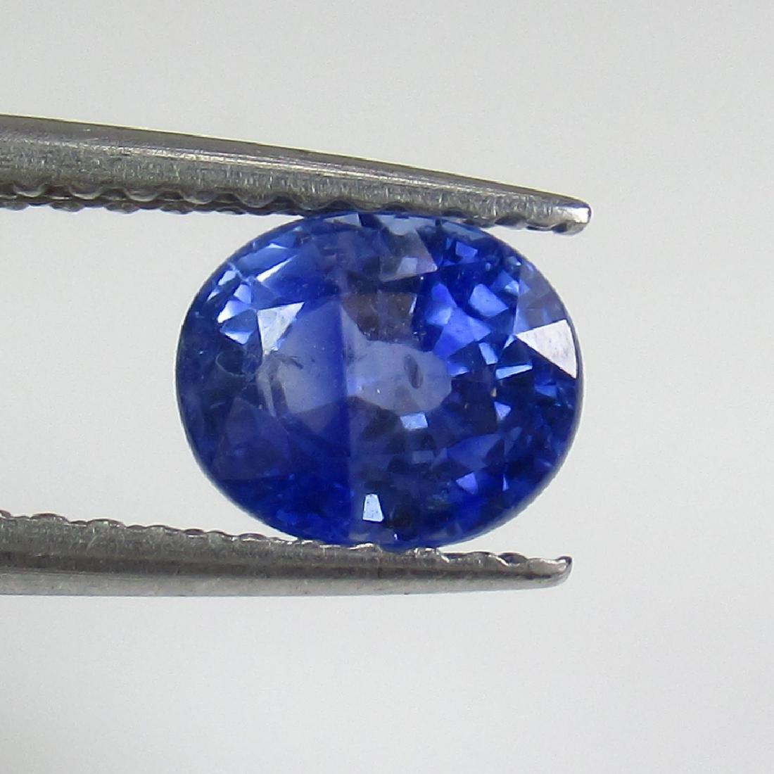 1.11 Ct Genuine Ceylon Blue Sapphire Oval Cut
