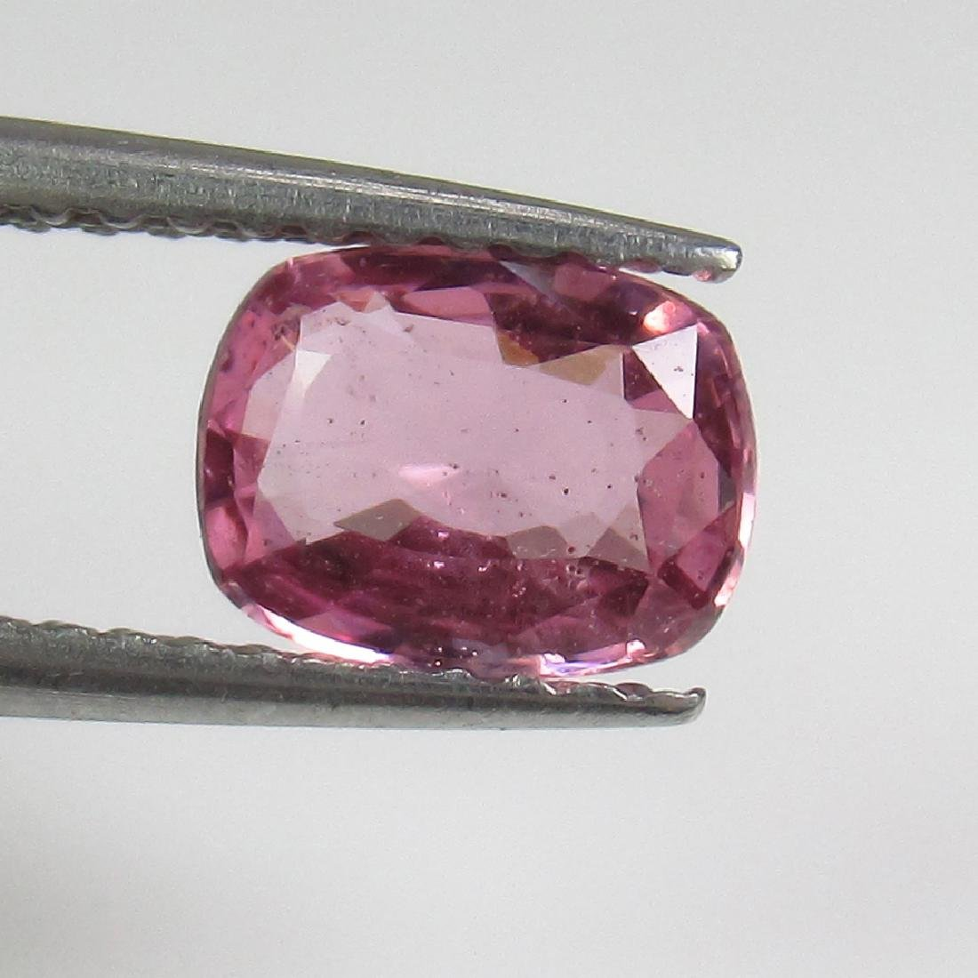 0.93 Ct Genuine Ceylon Pink Sapphire Cushion Cut