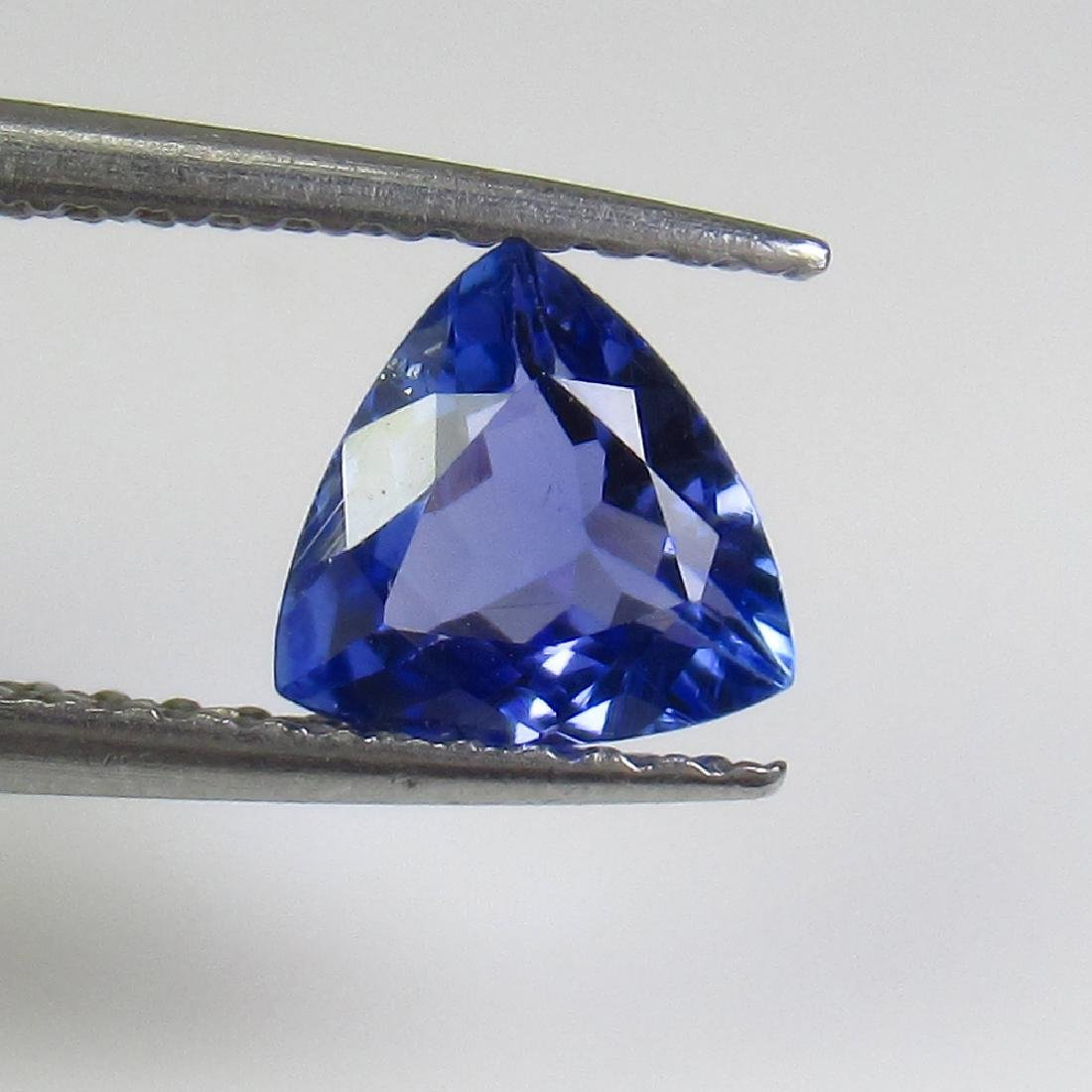 0.67 Ct Genuine Tanzanite 6X6 mm Excellent Trillion Cut