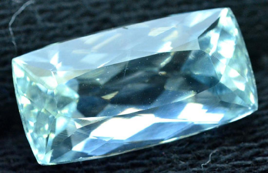6.35 cts Untreated Aquamarine Gemstone from Pakistan