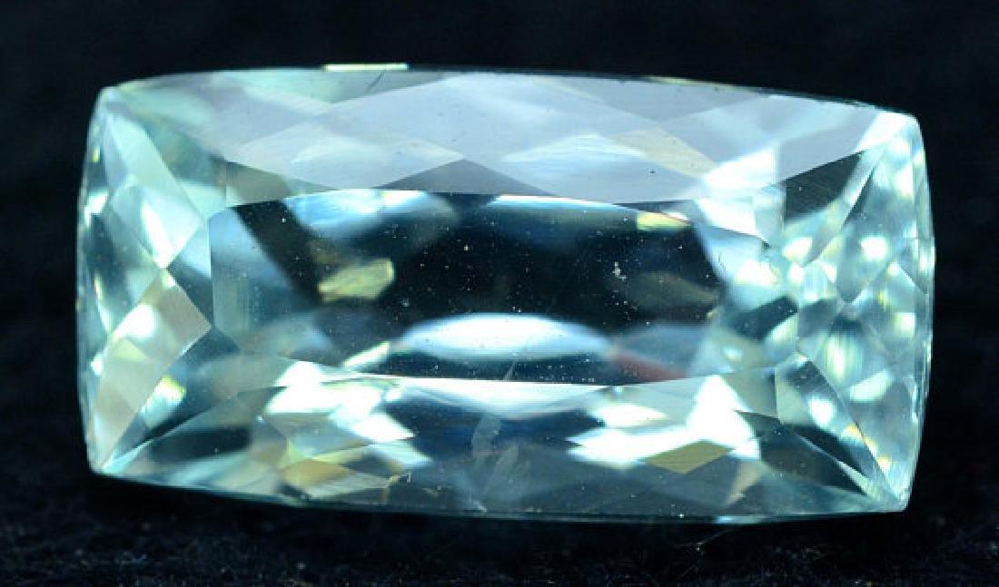 6.35 cts Untreated Aquamarine Gemstone from Pakistan - 2