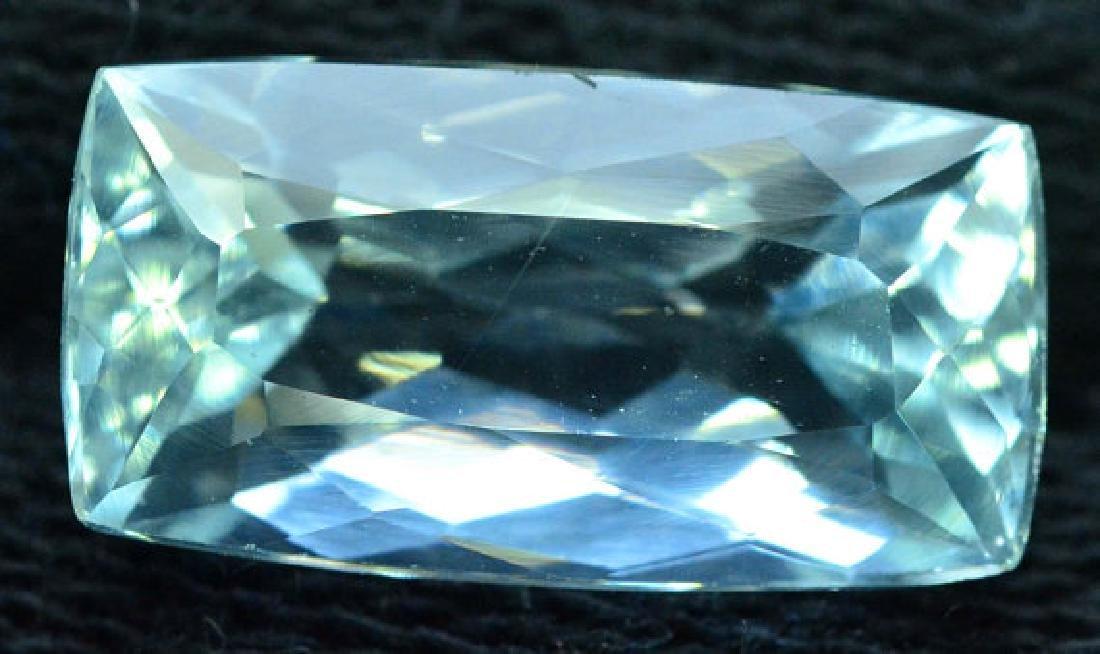 6.35 cts Untreated Aquamarine Gemstone from Pakistan - 4