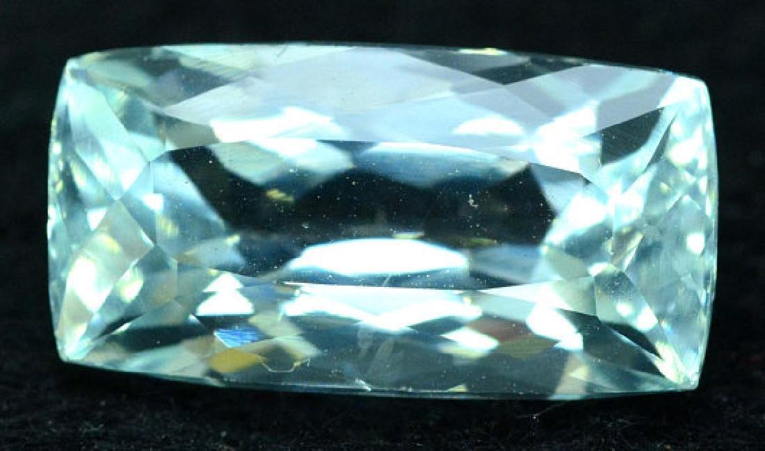 6.35 cts Untreated Aquamarine Gemstone from Pakistan - 7