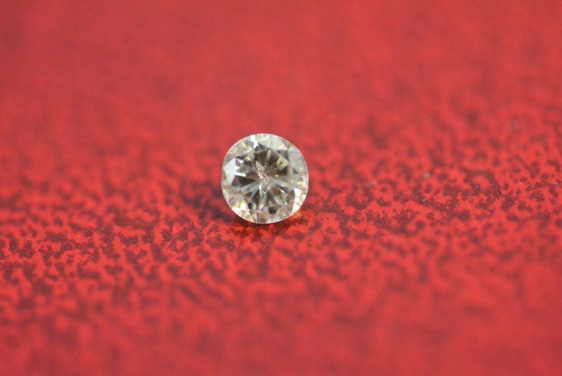 Loose .20 carat ROUND BRILLIANT cut Diamond SI3 clarity