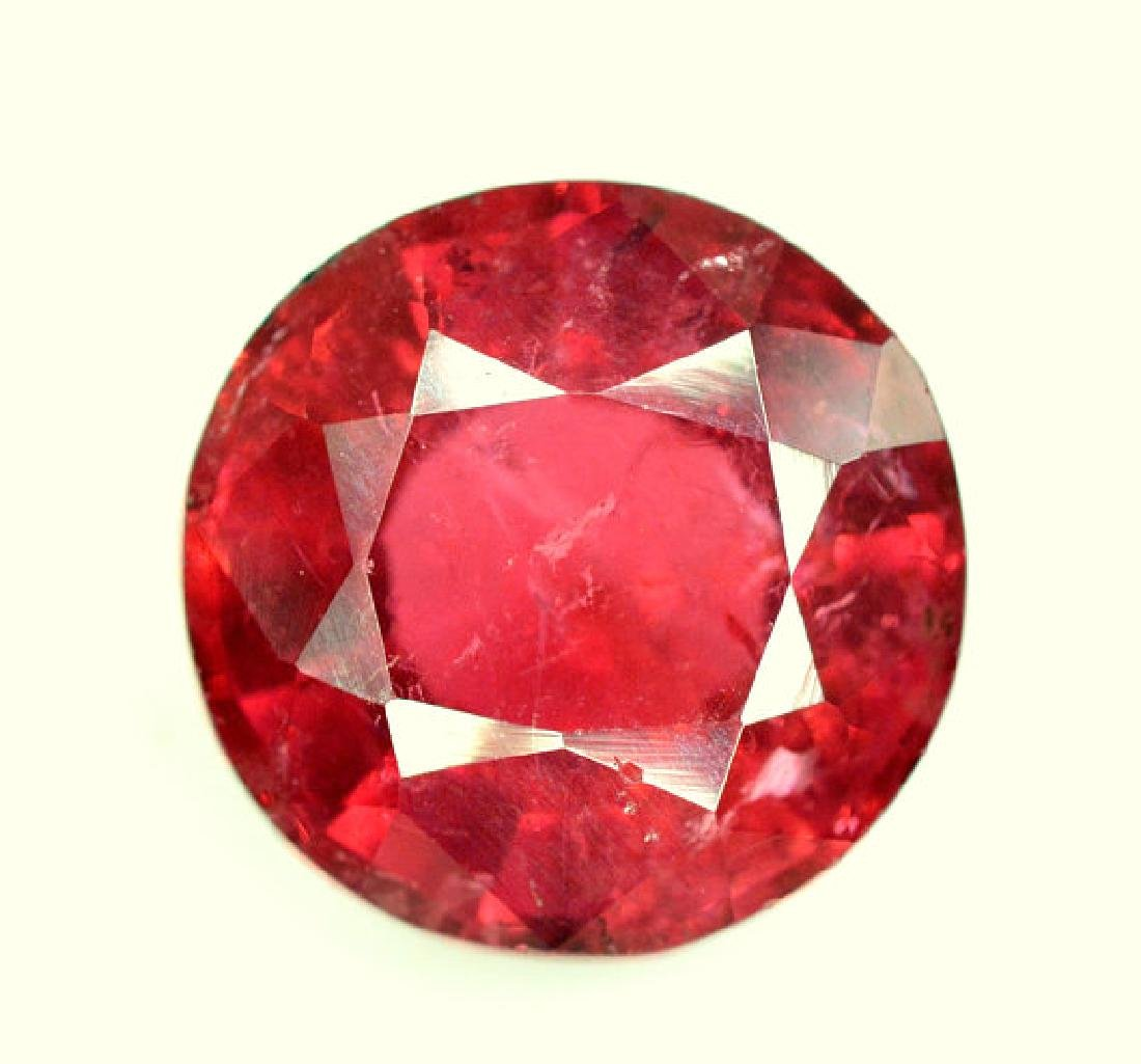 4.50 cts Round Cut Natural Rubelite Tourmaline from - 5