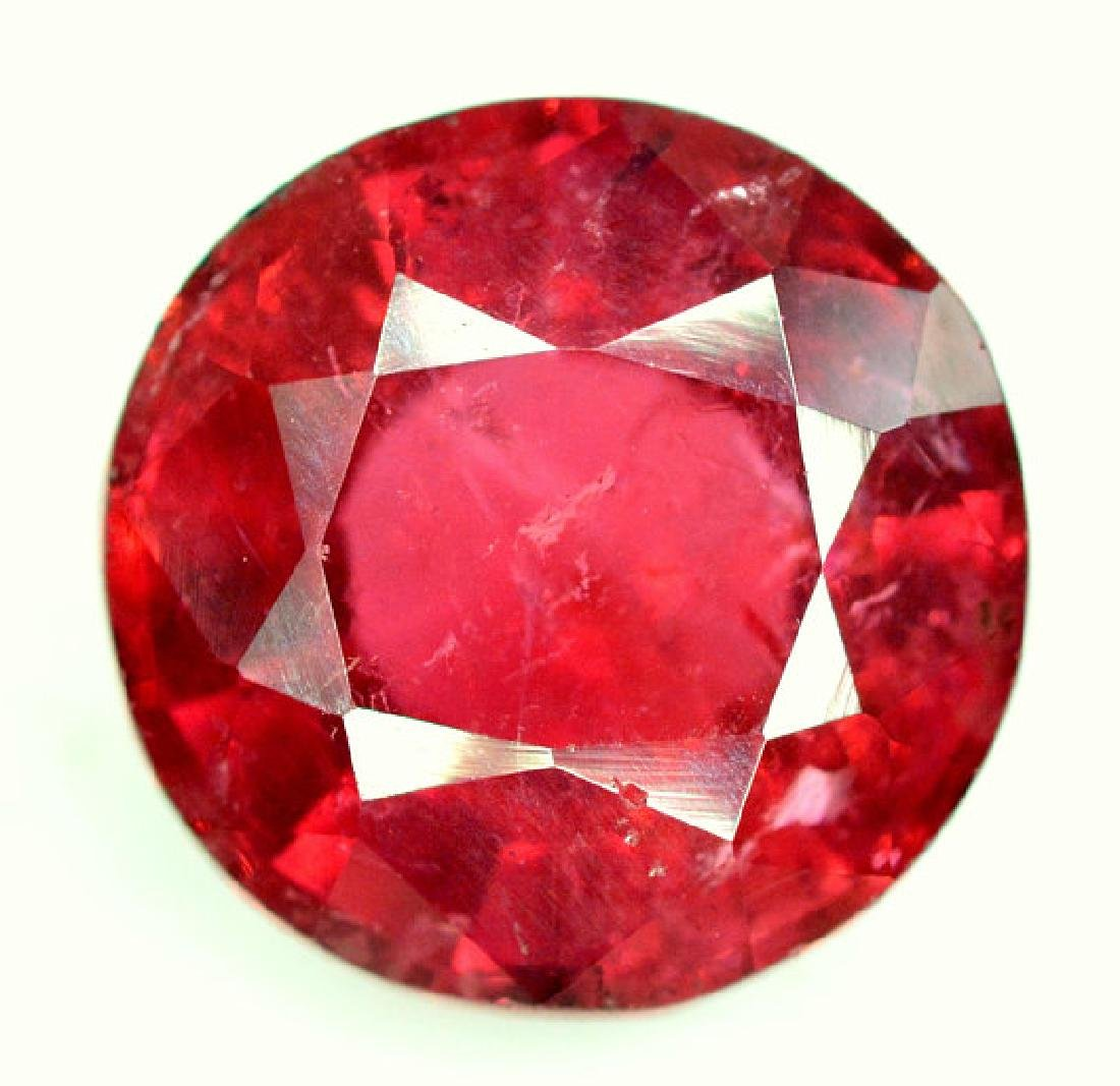 4.50 cts Round Cut Natural Rubelite Tourmaline from - 6