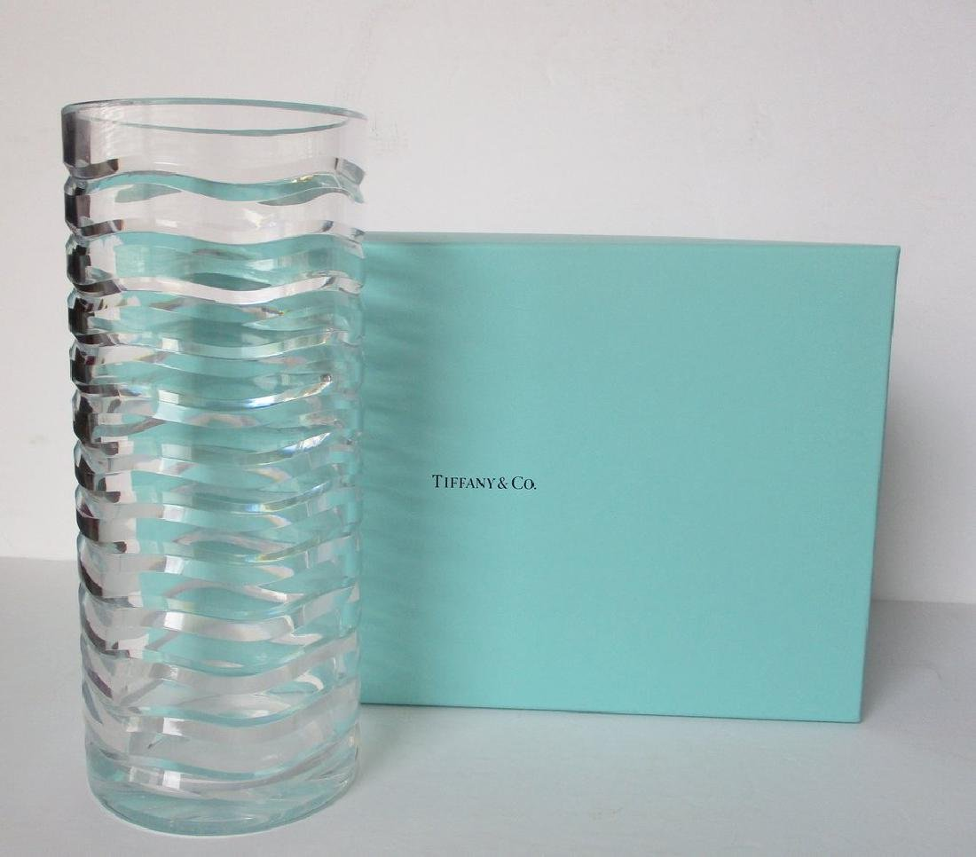 Vintage Tiffany & Co. Lead Crystal Vase by Royal